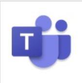 Microsoft Teams Symbol. Zum Thema effektives Arbeiten mit Teams führe ich Workshops und Seminare durch. Ich erarbeite Unterrichtskonzeptionen und Trainingsunterlagen. Teams ist ein weit verbreitetesProgramm mit dem Sie Onlineseminare anbieten können. Ich zeige Ihnen die Funktionsweise.